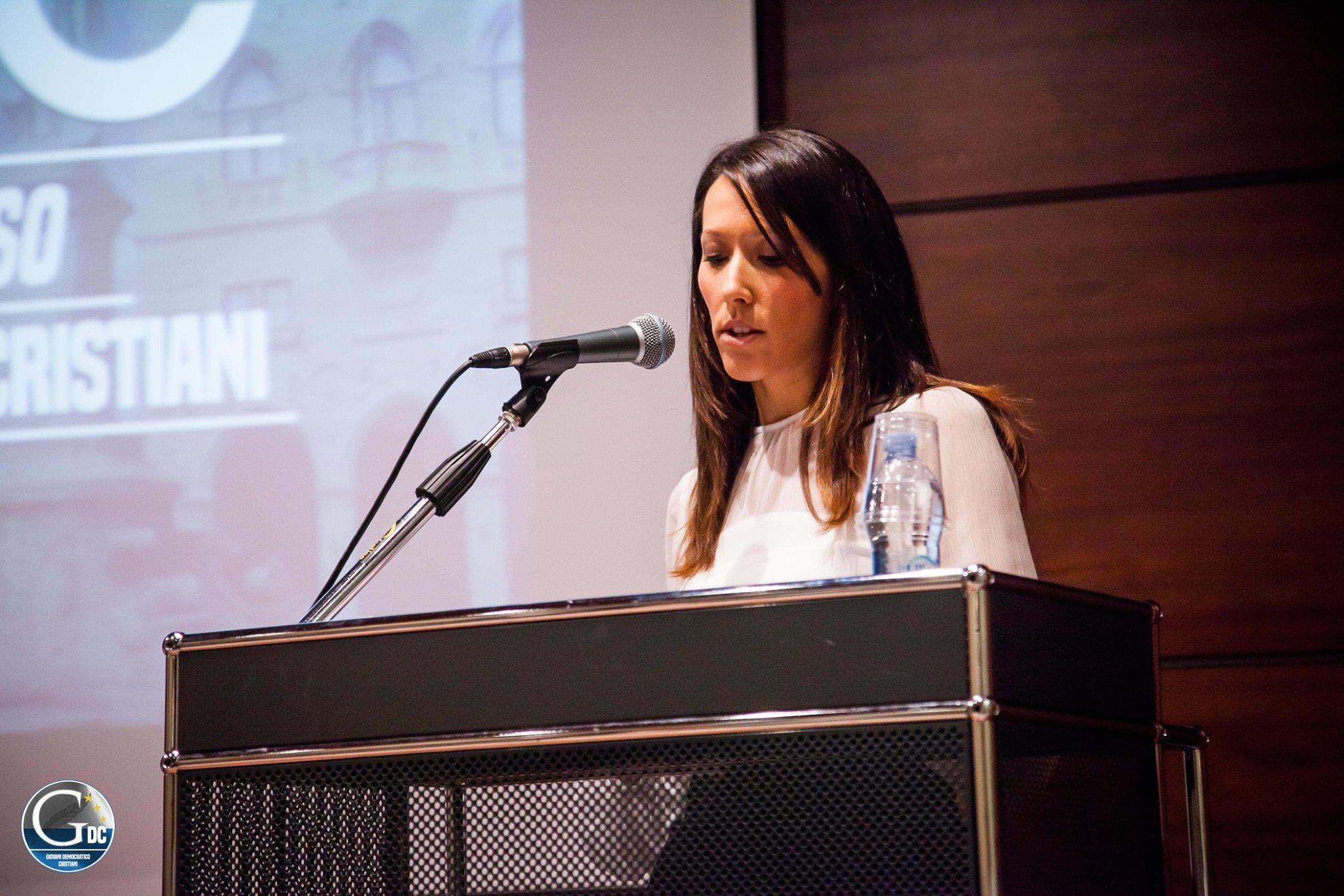 XVI Congresso GDC intervento di Alice Mina
