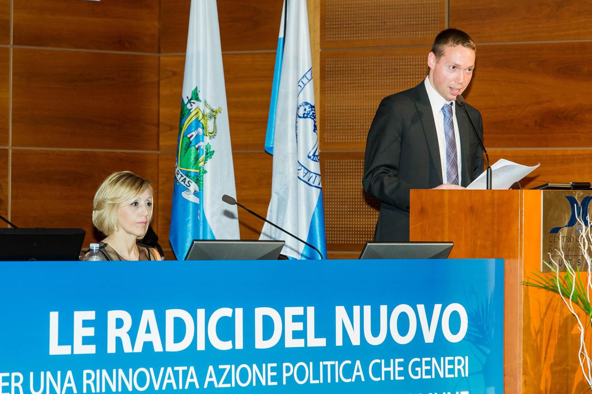 XVI Congresso GDC Intervento del Segretario GDC Mirco Guidi
