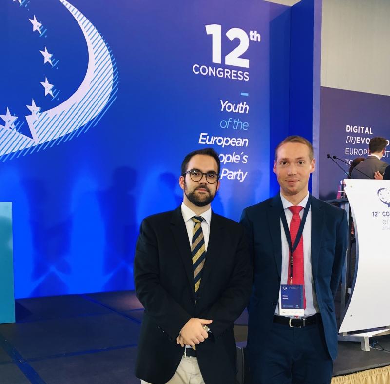 """""""L'Europa ha bisogno di un nuovo inizio!"""" GDC presenti al 12° Congresso YEPP"""