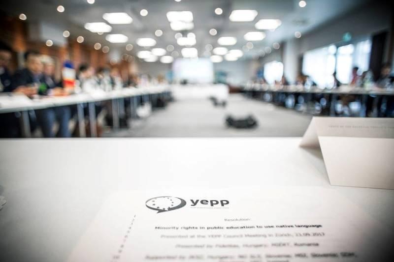 Delegazione GDC San Marino in Svizzera per il Council Meeting dello YEPP
