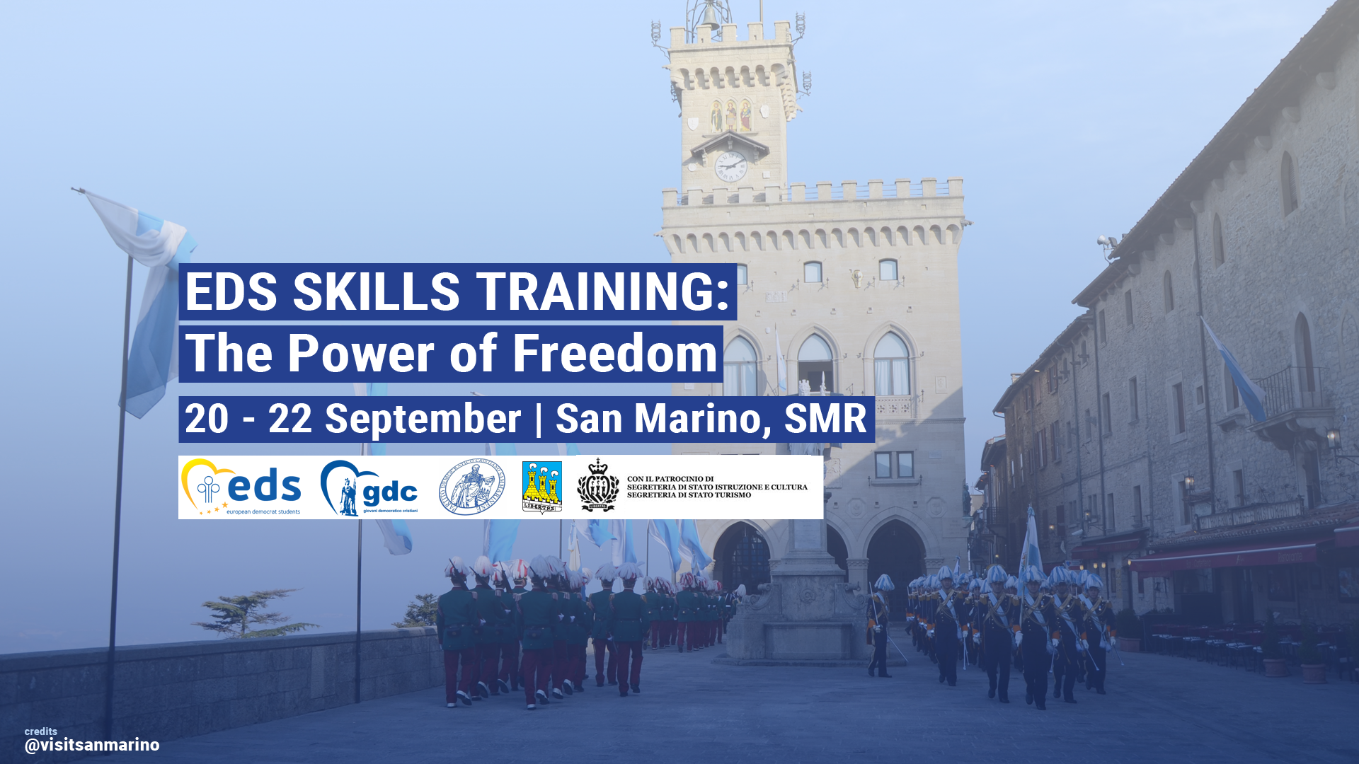 EDS Skills Training a San Marino dal 20 al 22 Settembre.