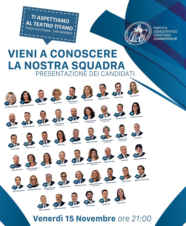 Appuntamento al Teatro Titano per la Serata di Presentazione della squadra PDCS 2019