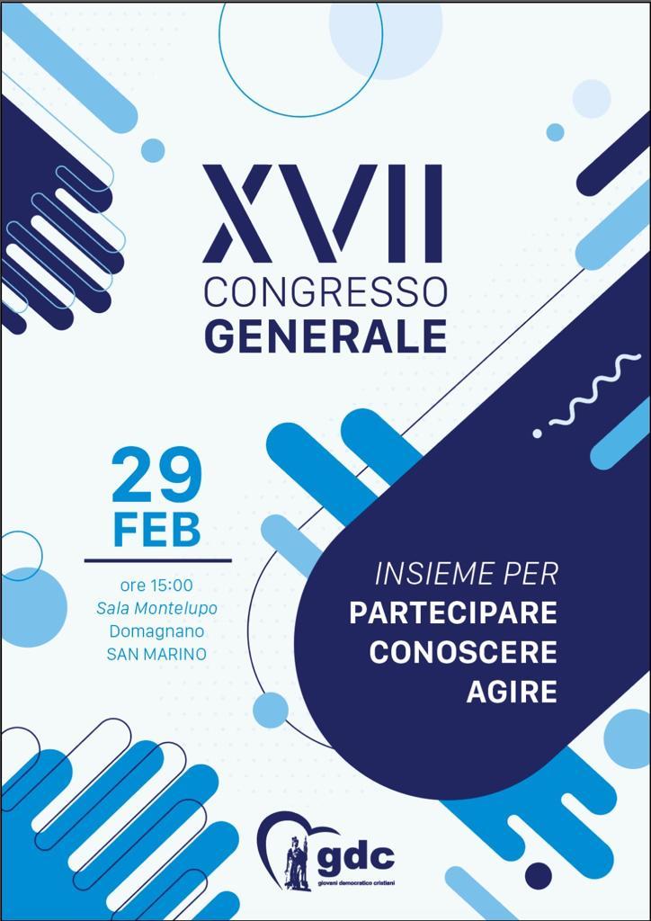 """""""Insieme per partecipare, conoscere, agire"""": conto alla rovescia per il Congresso dei GDC"""