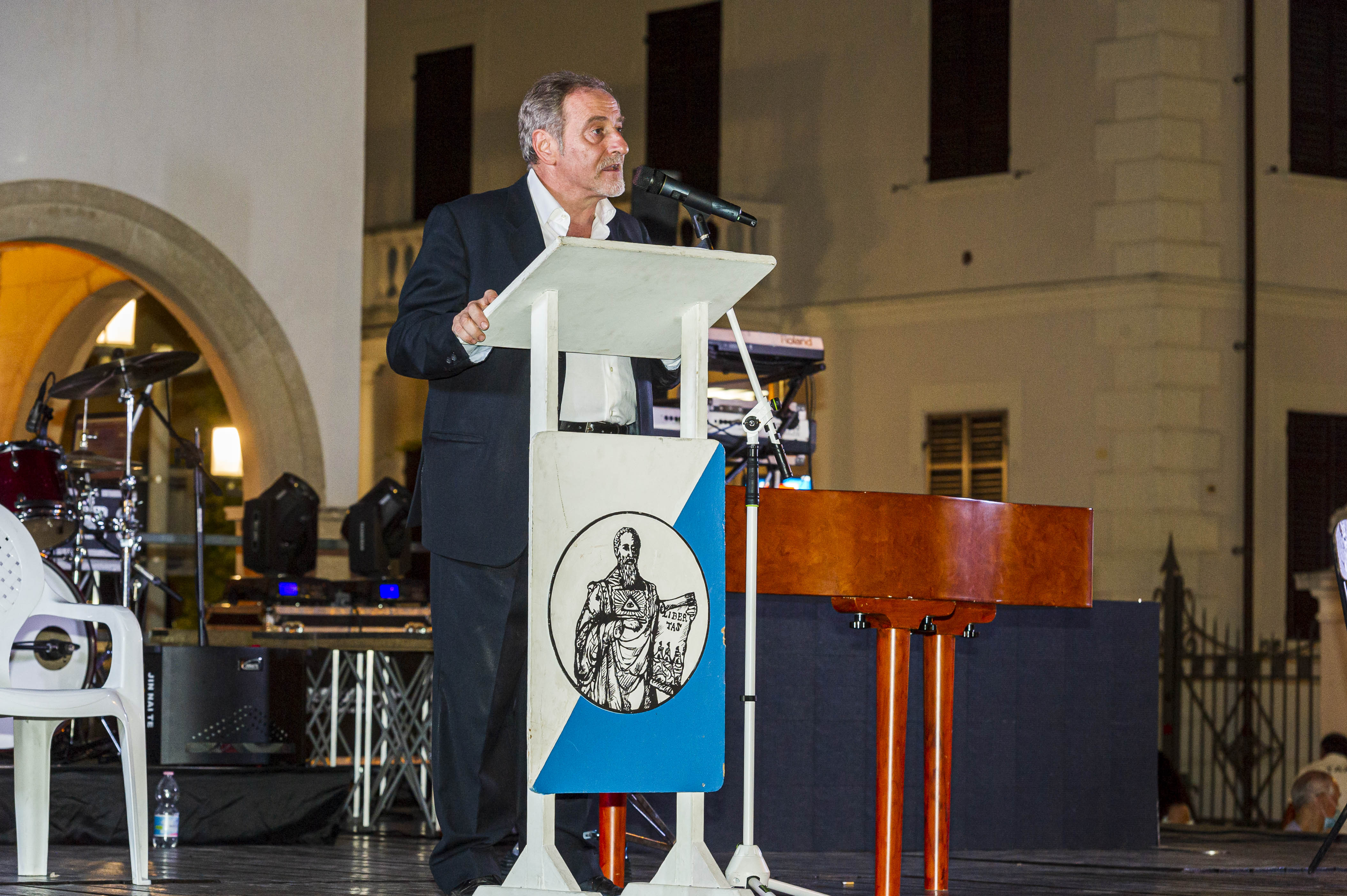 Intervento del Segretario Politico PDCS Gian Carlo Venturini alla 47° Festa dell'amicizia