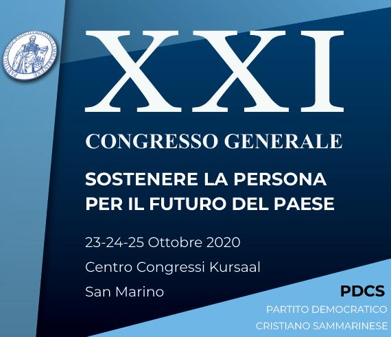 XXI Congresso del Pdcs – Dall'onorevole Mario Mauro e dal segretario del PPE Antonio López-Istúriz White due forti messaggi di vicinanza e sostegno per San Marino