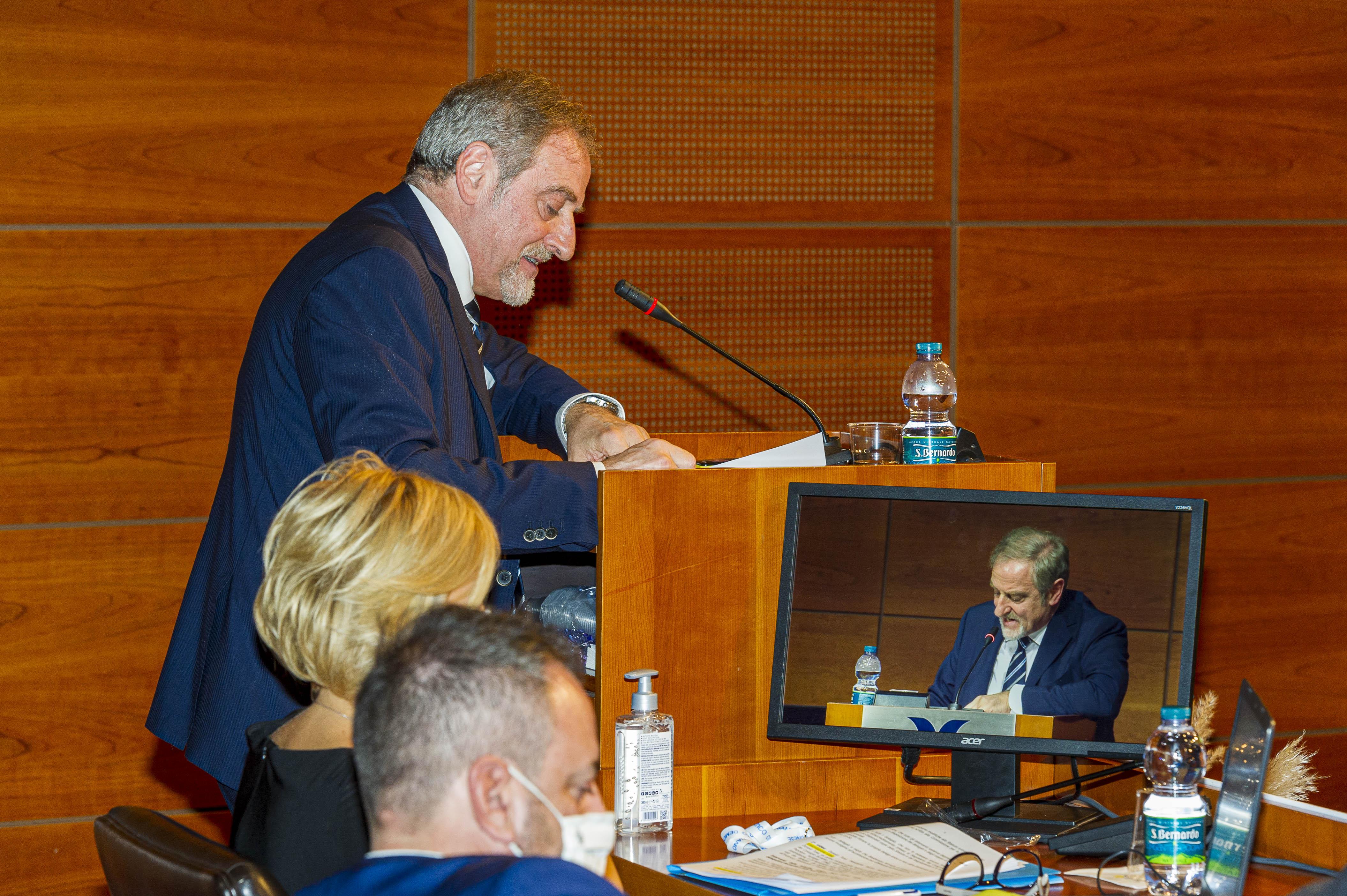 Intervento di replica del Segretario Politico G.C. Venturini XXI Congresso del PDCS 23-24-25 ottobre 2020