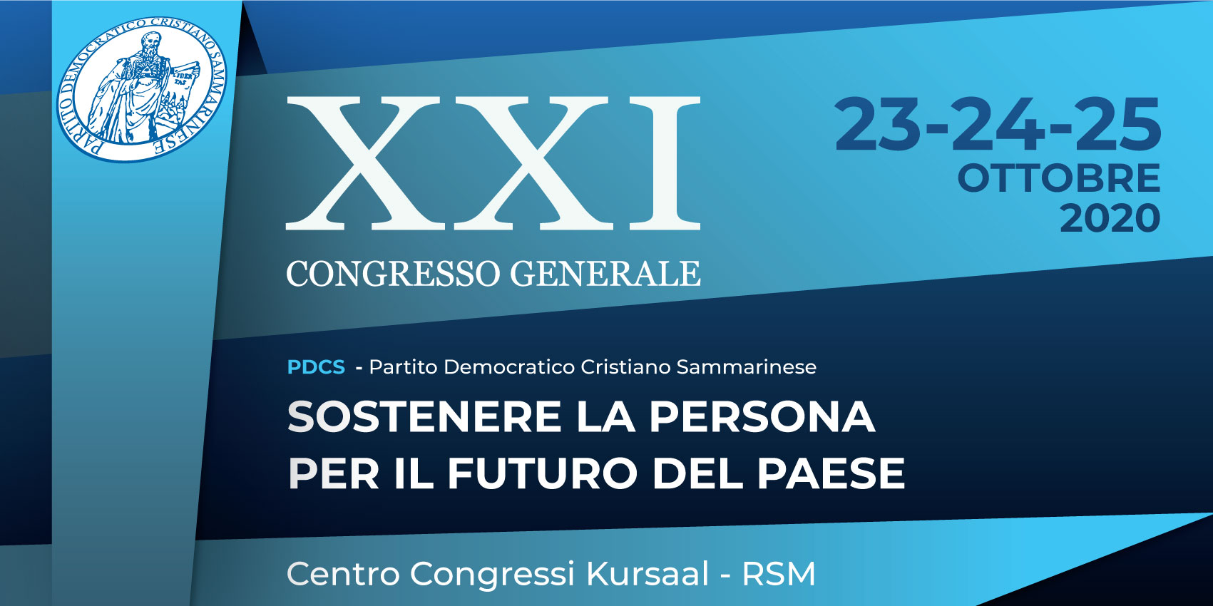 La Mozione Finale del XXI Congresso del PDCS