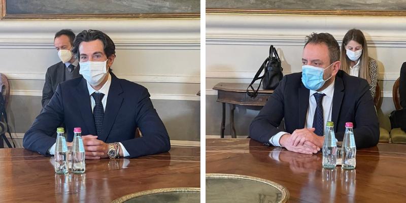 Visita a San Marino di Stefano Opilio per nuove collaborazioni tra San Marino e Italia in ambito giudiziario