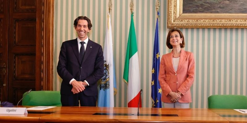 Ugolini-Cartabia, sui temi della giustizia San Marino e Italia viaggiano insieme