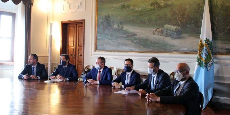San Marino e Italia ora collaborano convintamente